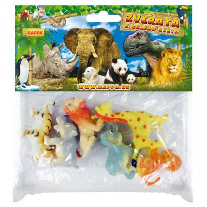 Zvieratá divoká veselá 6 ks v sáčku