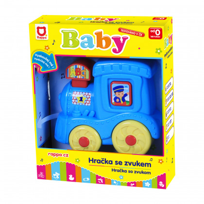 Baby lokomotíva so zvukom a světllem