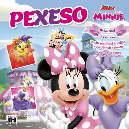 Pexeso v zošite Minnie