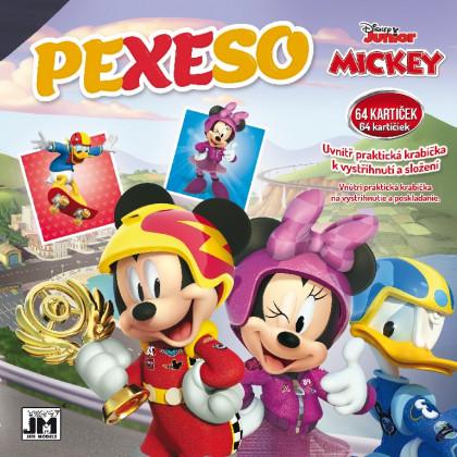 Pexeso v zošite Mickey Mouse