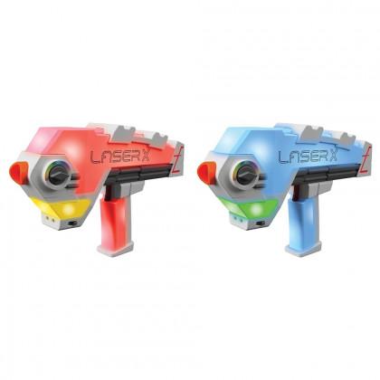 LASER X evolution double blaster set pre 2 hráčov